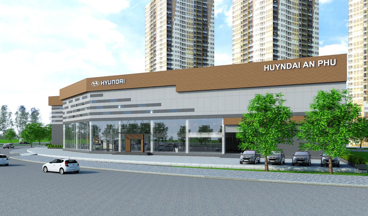 Showroom Hyundai An Phú
